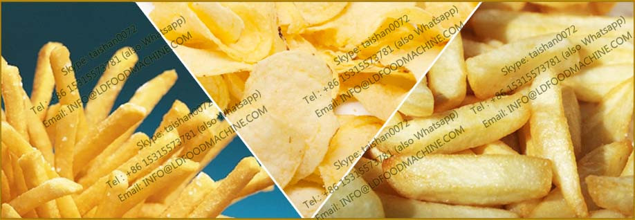 fully automatic potato chips make machinery price chips frying machinery price