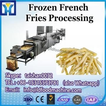 small scale semi automatic french fry make machinery