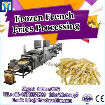 small scale frozen french fries processing line