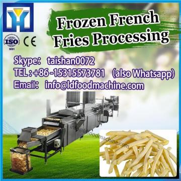 Fresh Potato French Fries machinery; Frozen French fries macLD machinery