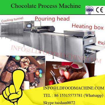 Low cost small chocolate enroLDng machinery with cooling tunnel