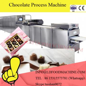 Small scale business machinery for coating chocolate