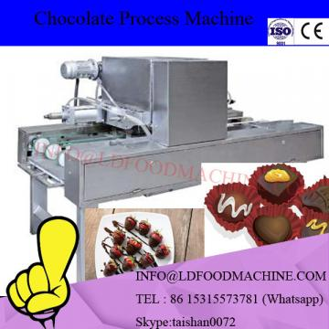High Capacity fully automatic sweet chocolate production line / chocolate depositing line