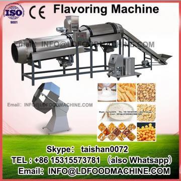 0.75KW Enerable saving flavour popcorn machinery potato chips make flavoring machinery