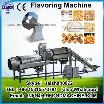 Snack oil fried flavoring machinery/chips seasoning machinery/flavored popcorn machinery