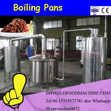 500L stainless steam tiLDable jacketed pot