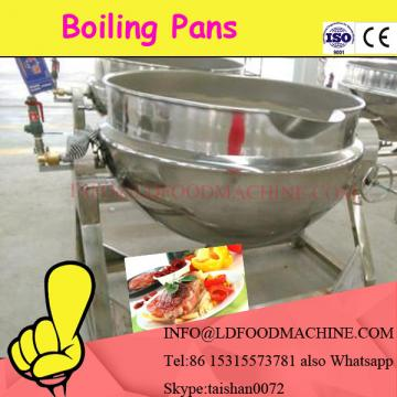 electric heating tiLDable jacket kettle with agitator