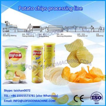 2017 Potato chips production line /Potato chips make machinery coal LLDe heating mode