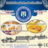 Single-screw extruder core filling snacks food machinery with CE ISO