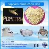 Automatic mushroom popcorn batch caramel popcorn make machinery