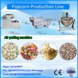 automatic commercial large continue Caramel popcorn popper make machinery gas popcorn processing line