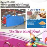 Feather meal production line for rendering plant