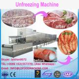 Professional continuous food thawing machinery/frozen food meat thawing machinery/vegetable unfreezing machinery